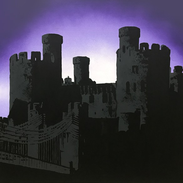 Conwy Castle painting