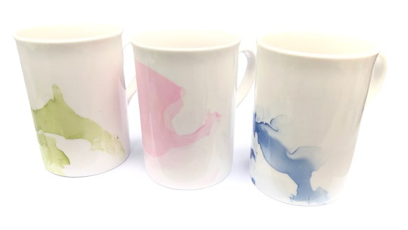 Enamelled Mugs