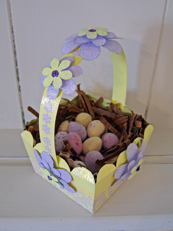 Wow! Embossed Easter Basket Perfectly4med Artist At