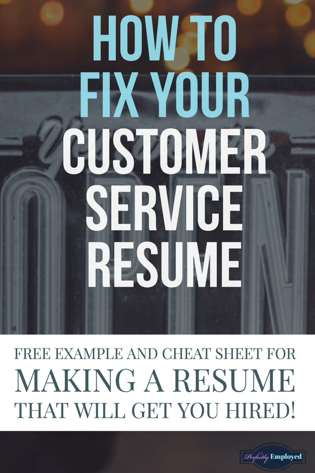 Resumes Examples For Customer Service example customer