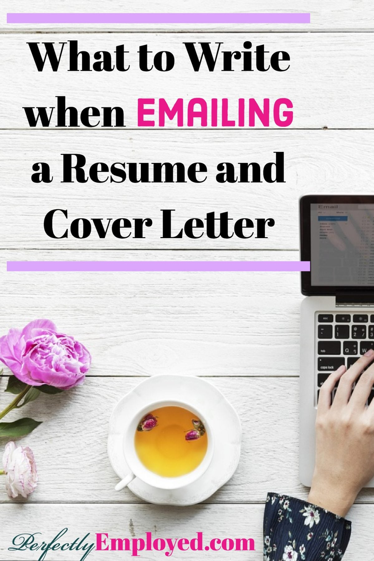 What to Write when Emailing a Resume and Cover Letter