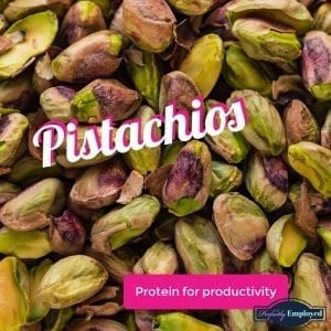 Eat pistachios to boost productivity
