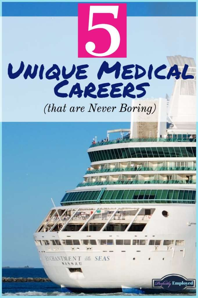 5 Unique Medical Careers that are Never Boring - #healthcare #career #jobs #nurse #doctor