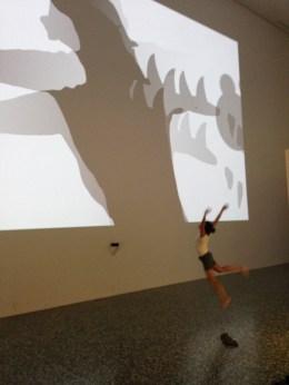shadow monsters at MFAH