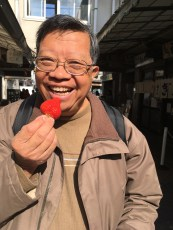 perfect strawberry, Tsukiji