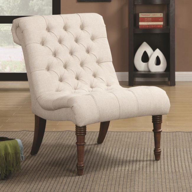 Slipper Chair, Bedroom Chair, Bedroom Slipper Chair, Bedside Chairs, Small Chair, Small Bedroom Chair