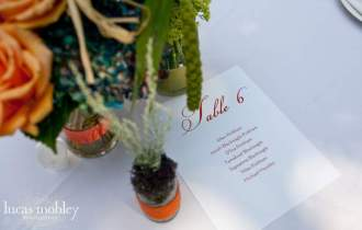 Photo by Lucas Mobley | Wedding Planning by Perfectly Posh Events
