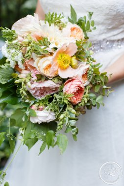 Bliss and Savvy wedding planning and creative business advice for aspiring wedding planners.  Wedding bouquet by Melanie Benson.  Photo by Amelia Soper Photography. Wedding Planning by Perfectly Posh Events.