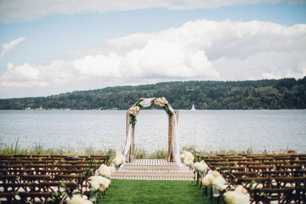Edgewater House Wedding, Gig Harbor, WA | Waterfront ceremony locations in greater Seattle area | Seattle Wedding Planner, Perfectly Posh Events | Mike Fiechtner Photography | Floral Design by Stacy Anderson Floral