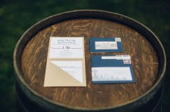 Edgewater House Wedding, Gig Harbor, WA | Nautical themed wedding invitation suite, cream and navy | Seattle Wedding Planner, Perfectly Posh Events | Mike Fiechtner Photography