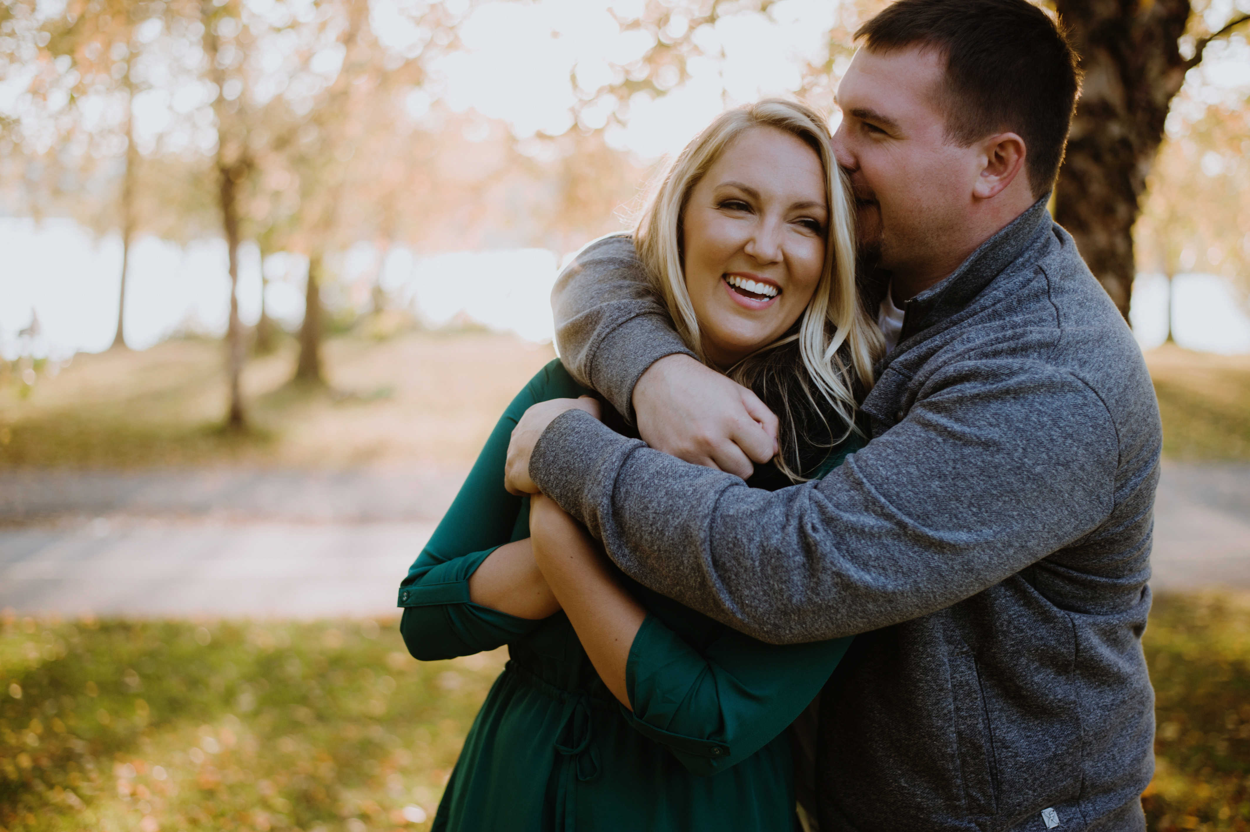 Seattle engagement | Seattle park engagement shoot | Carly Bish Photography | Perfectly Posh Events
