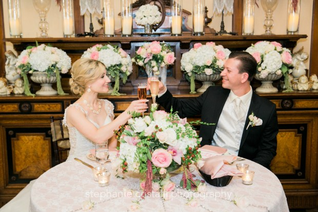Thornewood Castle Wedding in Seattle | Seattle bride and groom at Thornewood Castle | Perfectly Posh Events, Seattle Wedding Planner | Stephanie Cristalli Photography | Aria Style