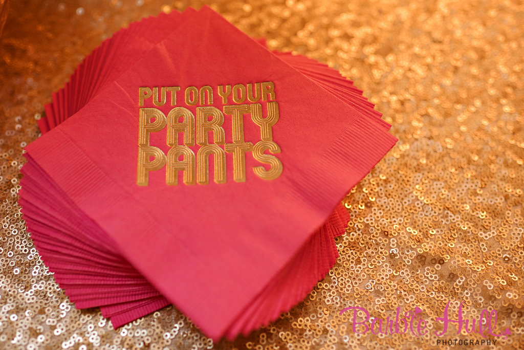 Seattle Wedding Planner, Perfectly Posh Events | Fun cocktail napkins | Barbie Hull Photography