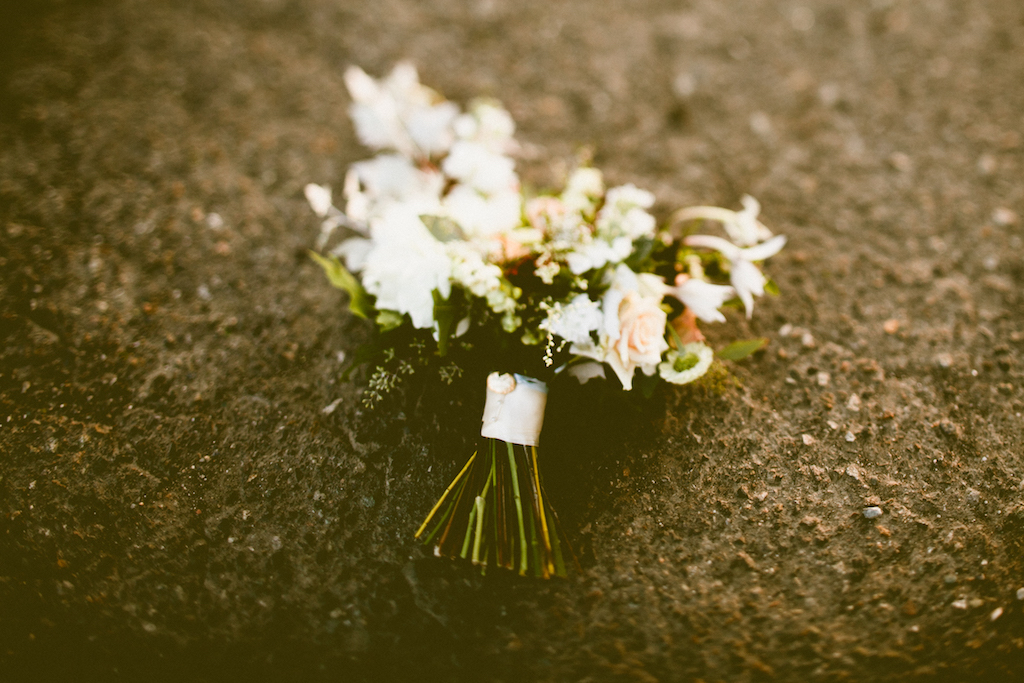 Sodo Park Wedding in Seattle| White and blush bouquet with greenery | Perfectly Posh Events, Seattle Wedding Planner | Andria Lindquist | Botanique