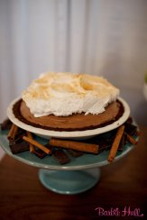 Seattle Wedding Show, I Do Sodo | Classic French Silk pie from A la Mode Pies | Perfectly Posh Events | Barbie Hull Photography | A la Mode Pies