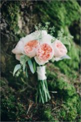 Glen Acres Golf Club   Seattle   Seattle Wedding Planner   Perfectly Posh Events   Barrie Anne Photography   Butter and Bloom   Pink Bridal bouquet with David Austin garden roses