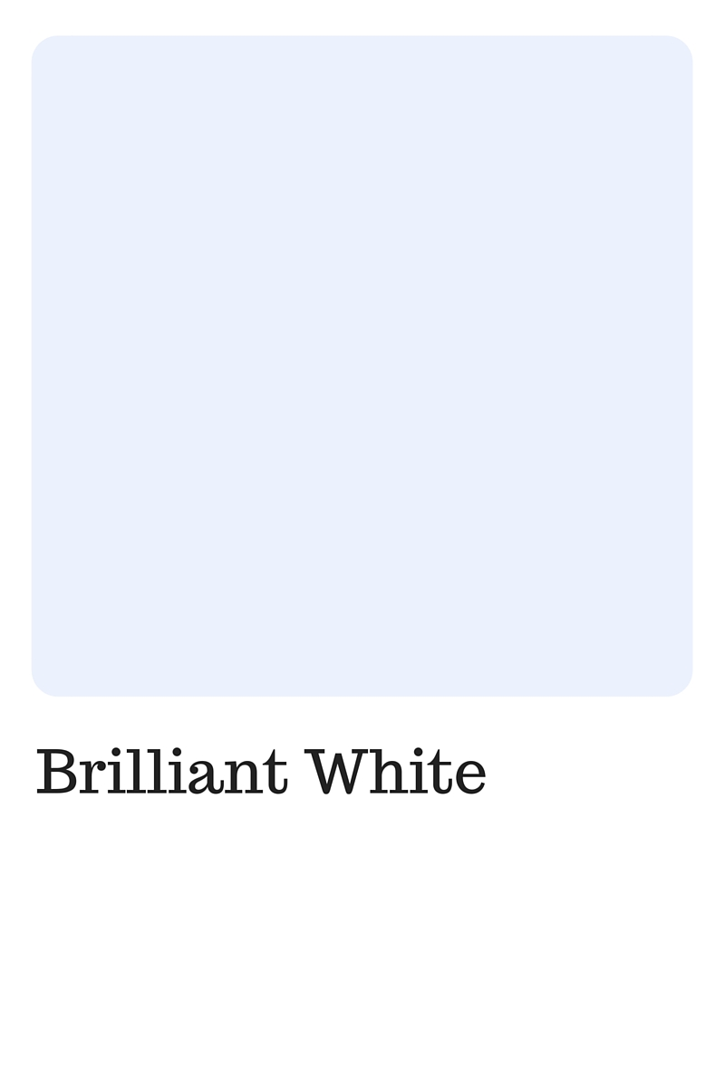 Shades of White to use in your wedding | Pantone Color, Brilliant White | Perfectly Posh Events