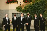 DeLille Cellars wedding in Woodinville   Groomsmen bridal party photoshoot with sunglasses   Perfectly Posh Events   Lucid Captures Photography