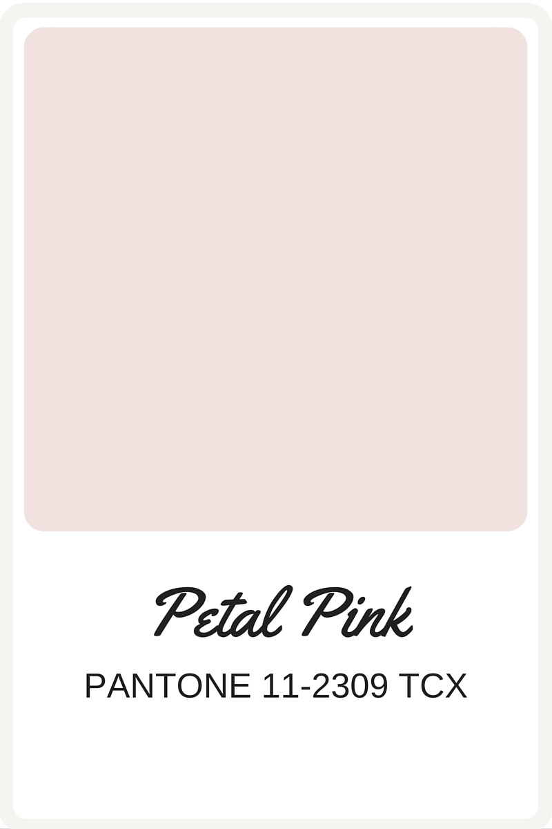 Shades of Pink to use in your wedding | Pantone Color, Petal Pink | Perfectly Posh Events