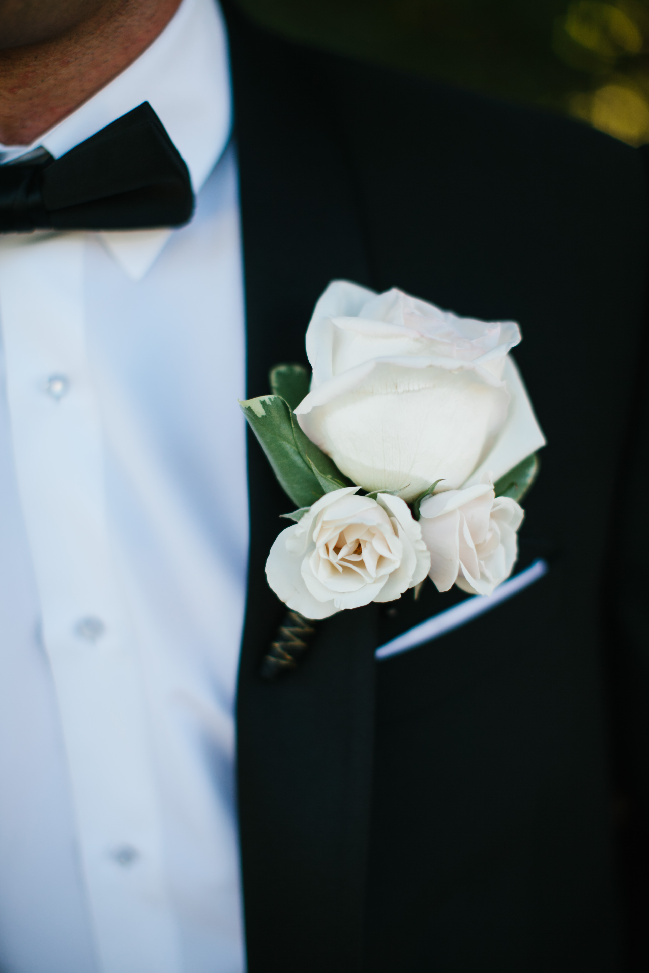 DeLille Cellars Wedding in Woodinville, WA | White rose Groom boutonniere | Perfectly Posh Events | Lucid Captures Photography | Flora Nova Design
