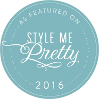 Wedding Featured on Style Me Pretty