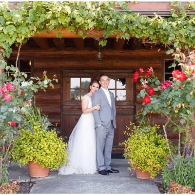 Elegant PNW Garden Wedding
