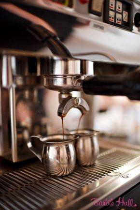 Seattle Wedding Show, I Do Sodo | Espresso Elegance serving lattes at I Do Sodo | Perfectly Posh Events | Barbie Hull Photography | Espresso Elegance