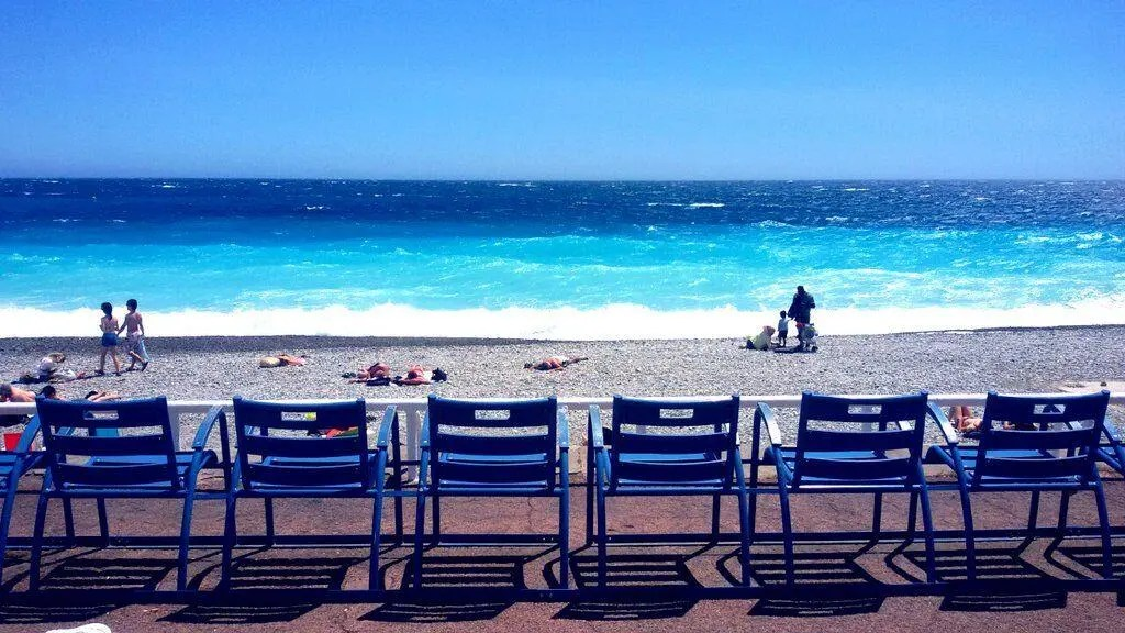 The Blue Chair Symbol of Nice