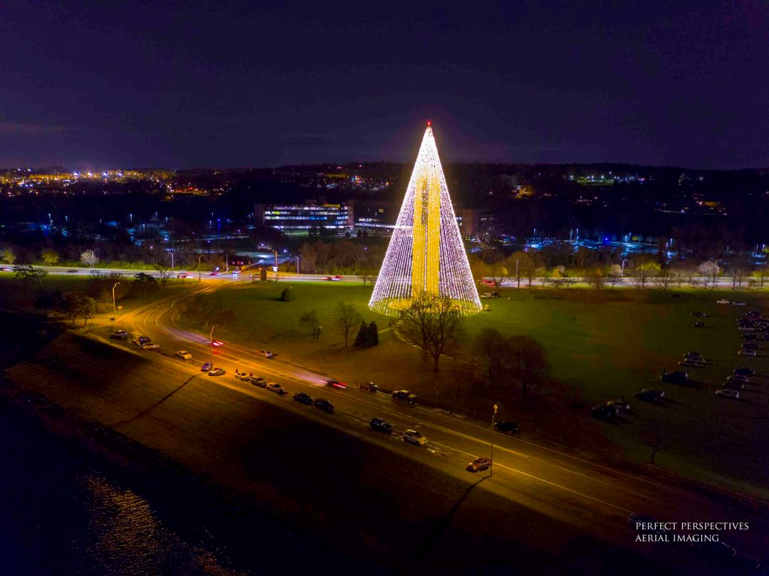 Deeds Carillon Tree - Drone Photograph