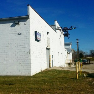 Drone Roofing Facade Inspection