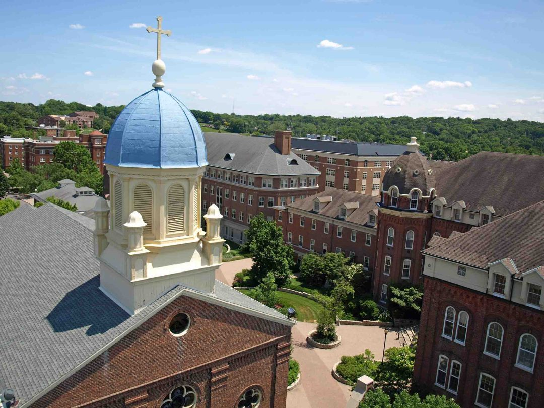 Drone Photograph - UD Chapel