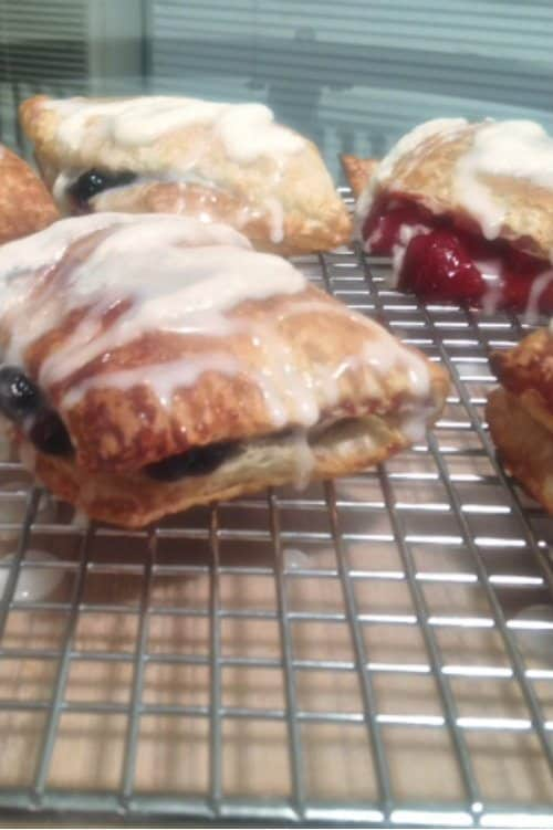 Just Frosted Puff Pastry Hand Pies