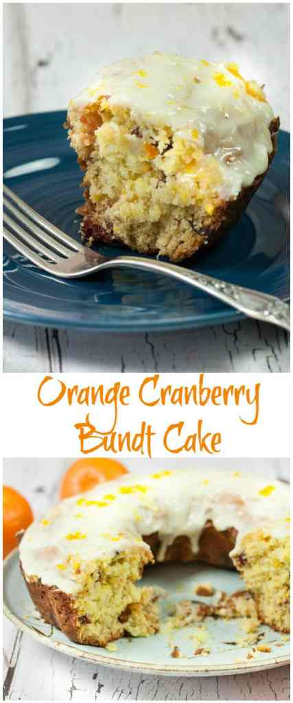 You will love this Delicious Orange Cranberry Bundt Cake Recipe, full of flavor with fresh oranges, tart cranberries & yummy Orange Glaze!
