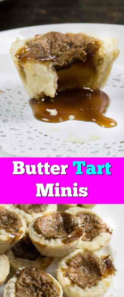 easy dessert recipes. homemade butter tarts