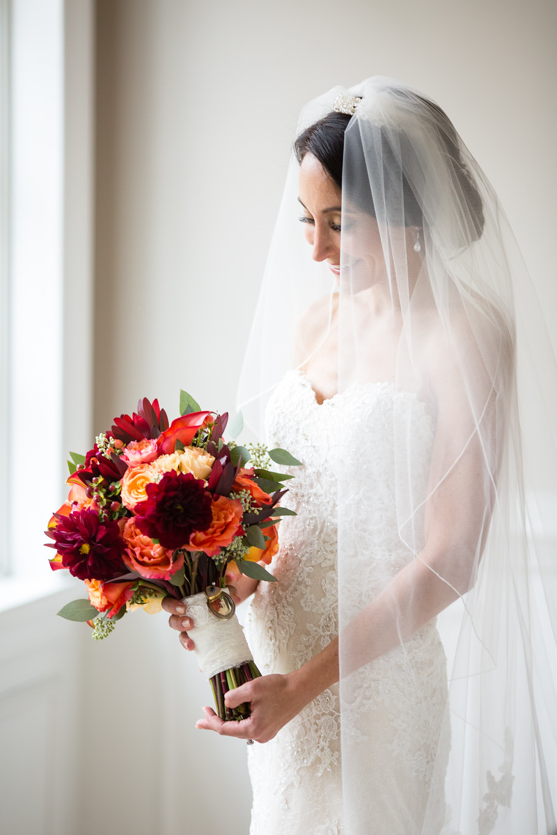 fall wedding bouquet by perfect planning events