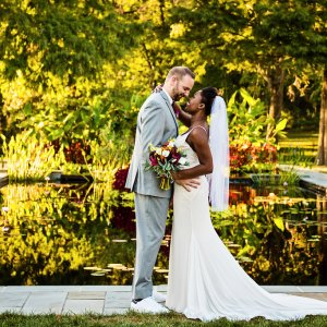 Vibrant Fall Wedding | Belmont Manor & Historic Park | Eric & Shakétta