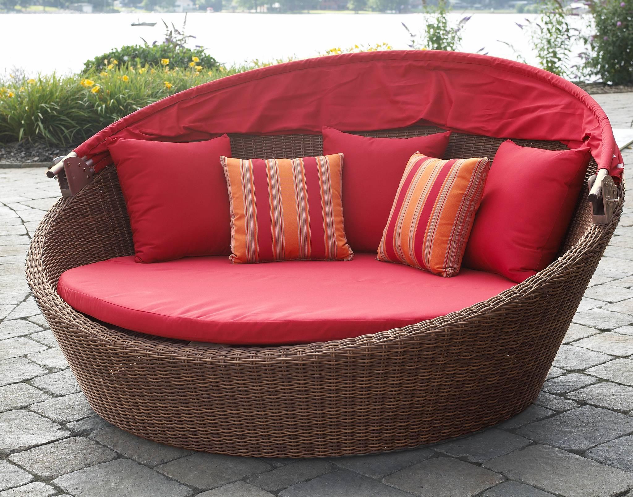 Sunbrella Cushions Make Porch Pillow Paradise