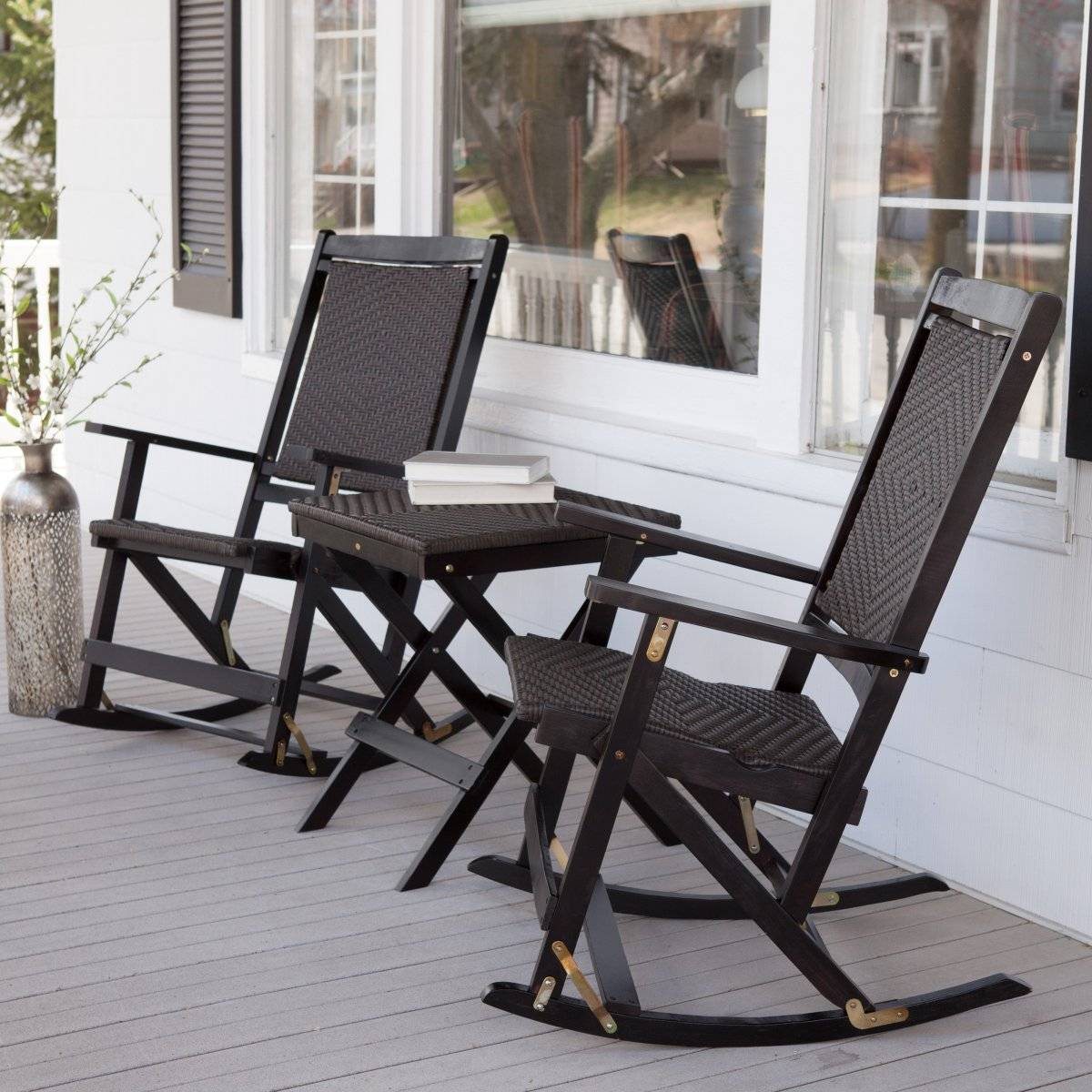 outdoor rocking chairs for tall man 87 great diy decorating tips your porch and patio