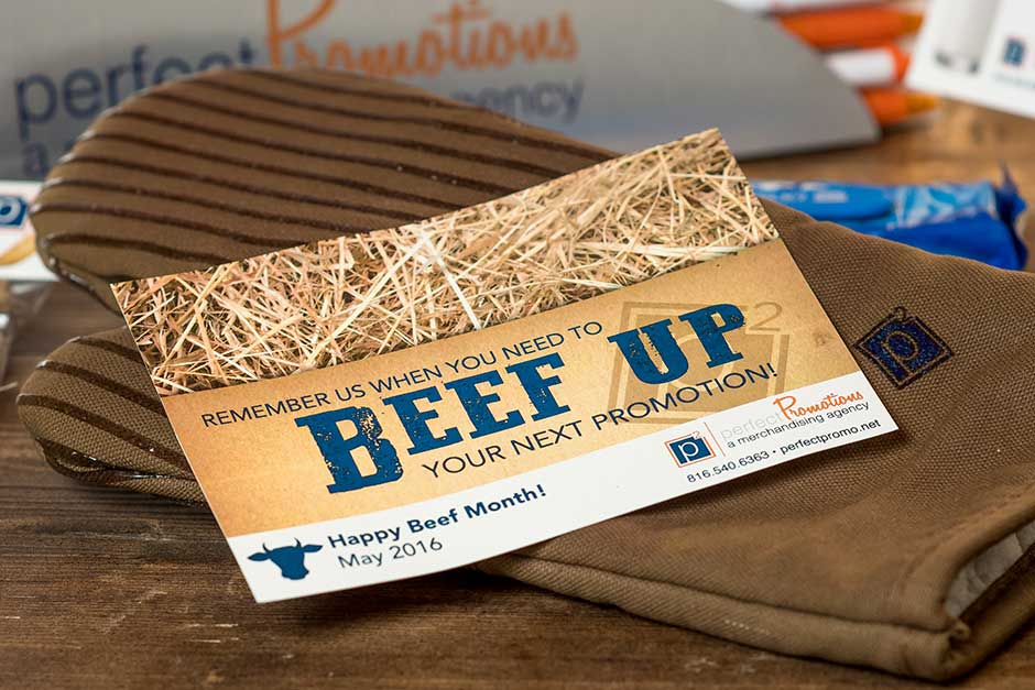 cooking promotional products beef up
