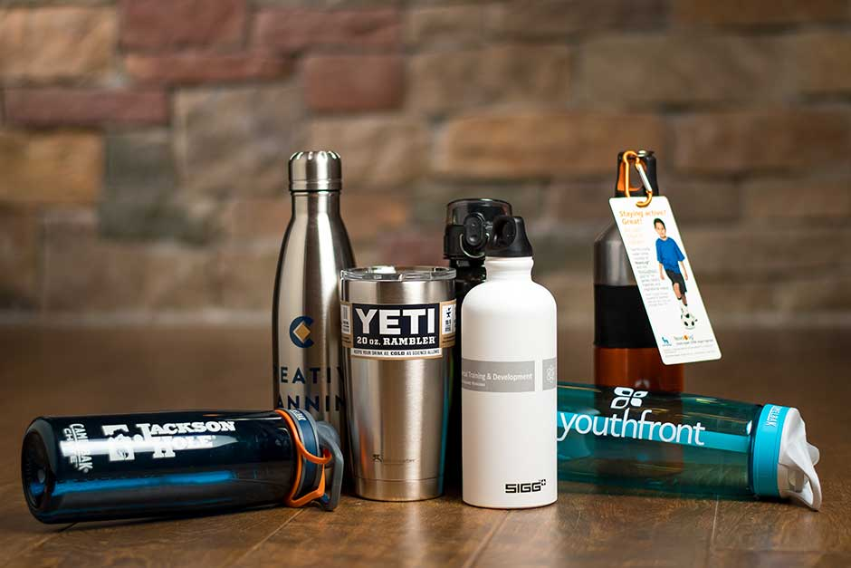 custom branded drinking product marketing