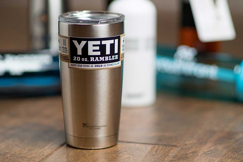 yeti 20oz custom printed thermal tumbler