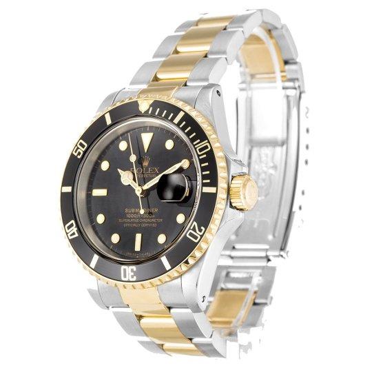 Rolex Submariner Black Dial 16613
