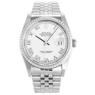 Rolex Datejust White 16220