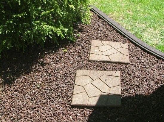 rubber paver tiles indoor