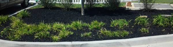 rubber landscape mulch recycled