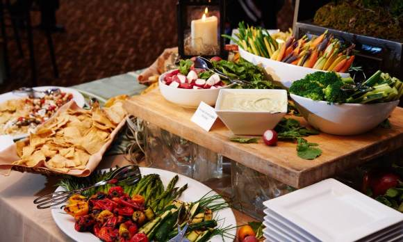 Party and Private Catering Services | Philadelphia and the Main Line | Vegetables and Greens
