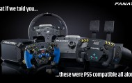 Fanatec announces PS4 Wheels compatible to PS5