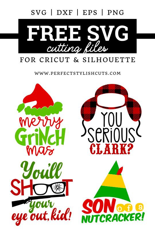 Christmas Svgs : christmas, Christmas, Movie, Bundle, PerfectStylishCuts, Files, Cricut, Silhouette, Cutting, Machines