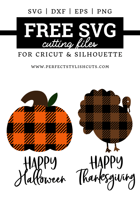 Free Thanksgiving Svg : thanksgiving, Happy, Halloween, Thanksgiving, Files, PerfectStylishCuts, Cricut, Silhouette, Cutting, Machines
