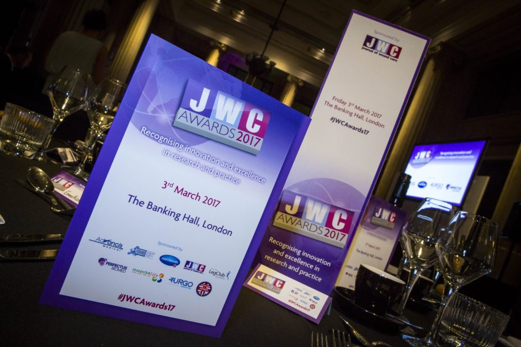 Journal of Wound Care Awards 2017